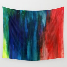 Spring Yeah! - Abstract paint 1 Wall Tapestry