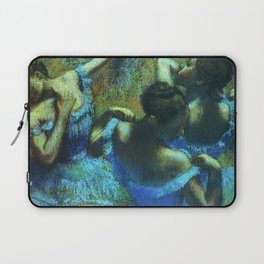 Blue Dancers by Edgar Degas Laptop Sleeve