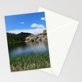 Sylvan Lake In The Black Hills Stationery Cards