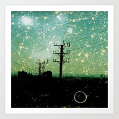Constellations (2) Art Print