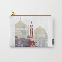 Lahore skyline poster Carry-All Pouch