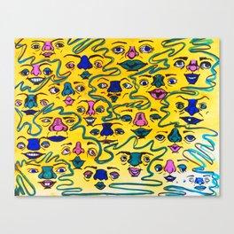 Smiley Canvas Print