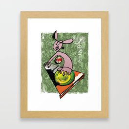 DJ Framed Art Print
