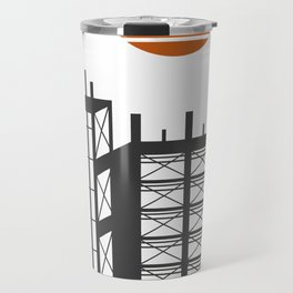 City in construction Travel Mug