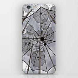 FREEDOM SURREAL FLYING UMBRELLAS  iPhone Skin