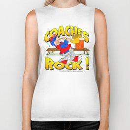 Coaches Rock Biker Tank