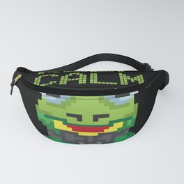 Keep Calm and Kiss a Frog Kiss the Frog Fanny Pack