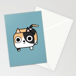 Cat Loaf - Calico Kitty Stationery Cards