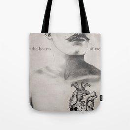 In the Heart of Men Tote Bag