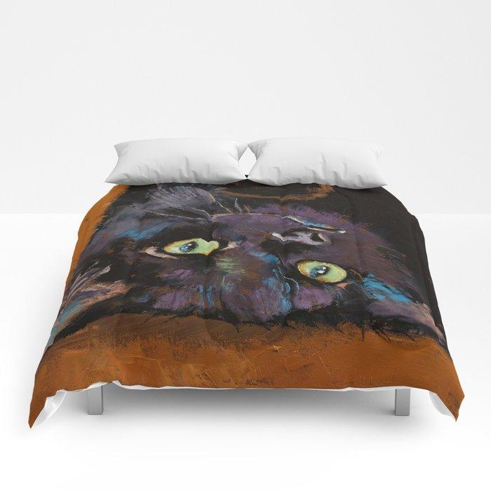 Upside Down Kitten Comforters