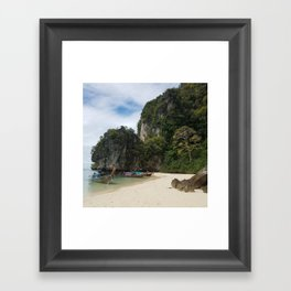 Hong Island Framed Art Print