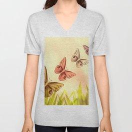 butterfly fantasy Unisex V-Neck