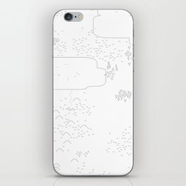 land of 15 towns and a cemetary iPhone Skin
