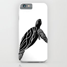 Rising Turtle by Seasons Kaz Sparks iPhone Case