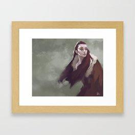 Watch Framed Art Print