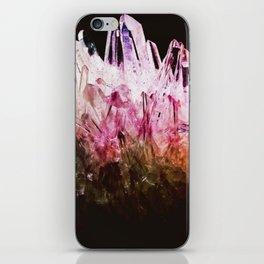 Rainbow quartz iPhone Skin