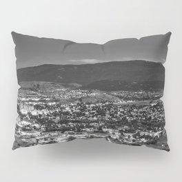 Okanagan Cityscape BW Pillow Sham