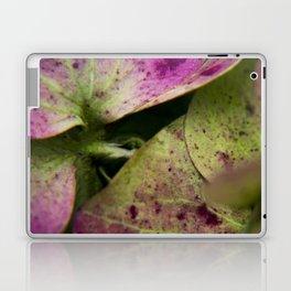 hydranjea pink and green Laptop & iPad Skin
