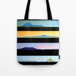 NEW ZEALAND PAUA LANDSCAPES Tote Bag