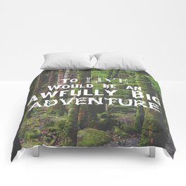 Peter Pan and Forrest Lands Comforters