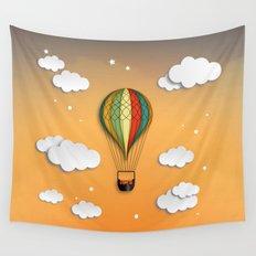 Balloon Aeronautics Dawn Wall Tapestry
