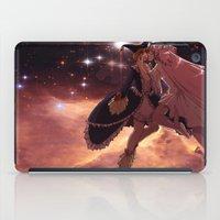 madoka magica iPad Cases featuring Madoka Magica Walpurgisnacht Kiss by Erin Ptah