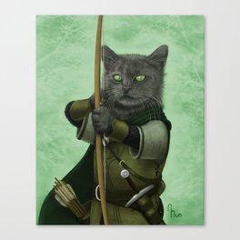 Ranger Cat Canvas Print