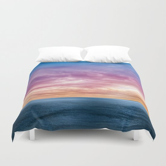 Rainbow Planet Duvet Cover