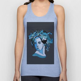 Fanny Mendelssohn Bartholdy Hensel German Pianist Female Woman Women Composer Music Musician Art Fem Unisex Tank Top