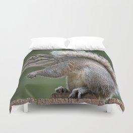 Weird squirrel Duvet Cover