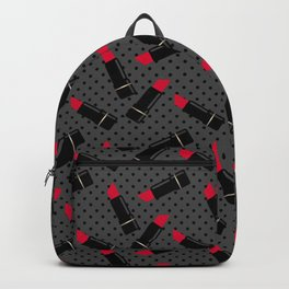Red lipstick 2 Backpack