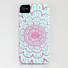 blue&pink Slim Case iPhone (4, 4s)
