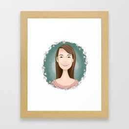 sarah Framed Art Print