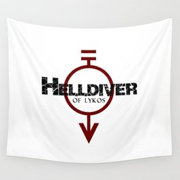 Helldiver of Lykos Wall Tapestry
