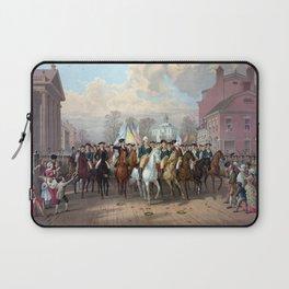 General Washington Enters New York Laptop Sleeve