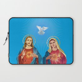 Jesus Christ and the Virgin Mary Laptop Sleeve