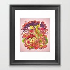 Cosmic Woods Framed Art Print