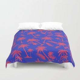 Tropical leaf pattern 15.1 Duvet Cover
