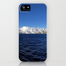 Antarctic Mountain Range iPhone Case