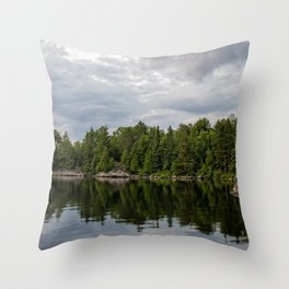 Boundary Waters Landscape Throw Pillow