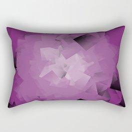 purple tissue Rectangular Pillow