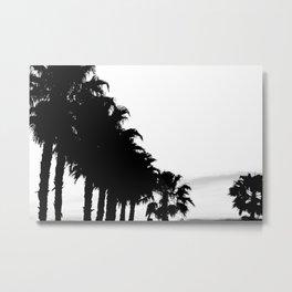 Palm tree Line up! Metal Print