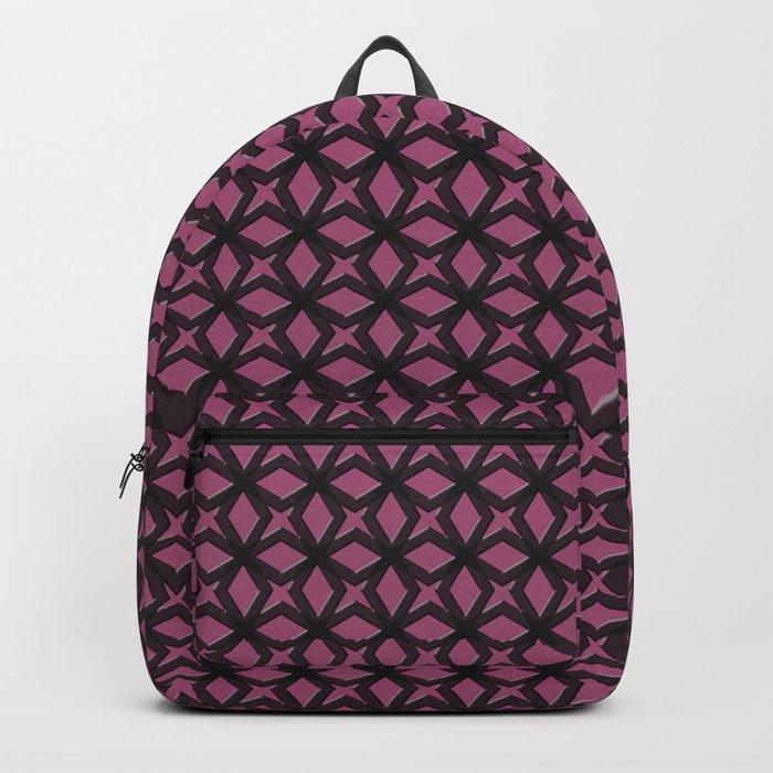Rose Black Replay Backpack
