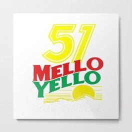 51 MELLO YELLO Metal Print