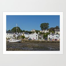 Mill Quay Art Print