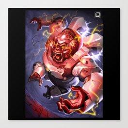 winston rage Canvas Print