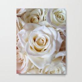 White Roses 1 Metal Print