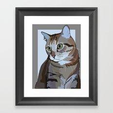 Sophie Cat Framed Art Print