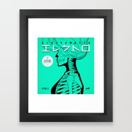 Electro - Japanese Version Framed Art Print