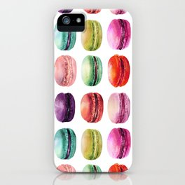macaron lollipops iPhone Case